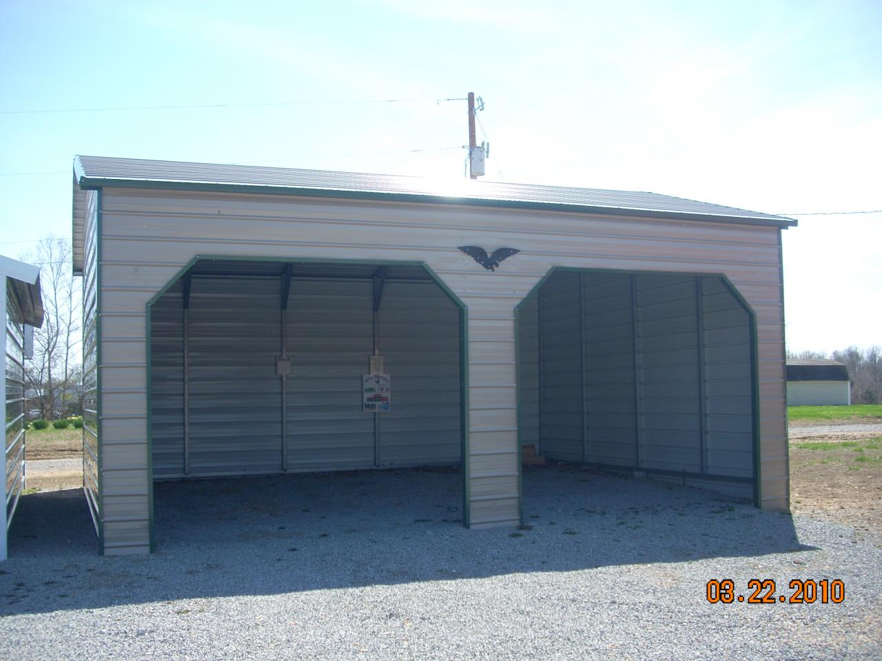 enclosed amazing garages frame a com garage creek style single carports asyfreedomwalk carport pine and image structures