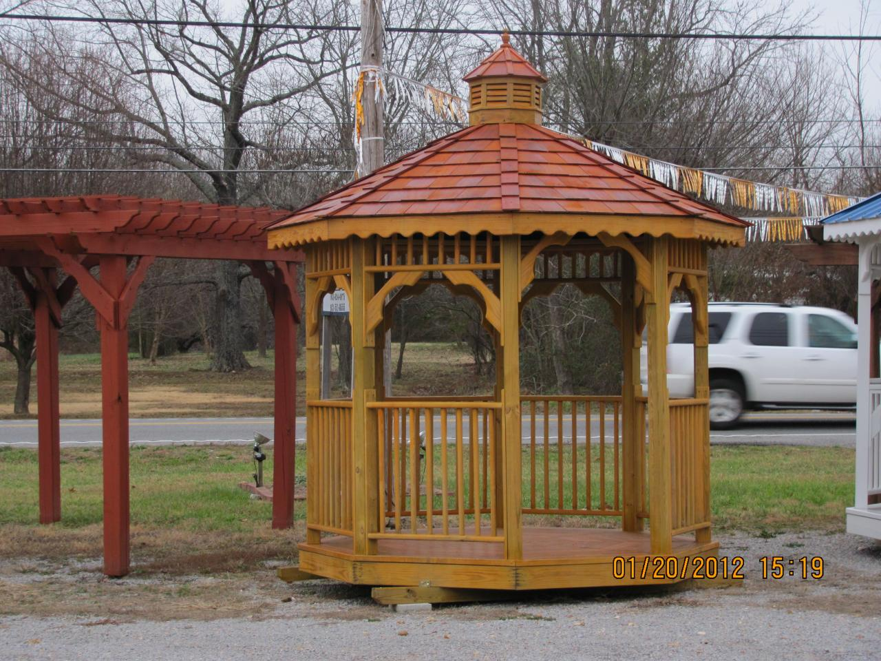 Tim ashby wholesale storage buildings cabins gazebo 39 s for Gazebo chicken coop
