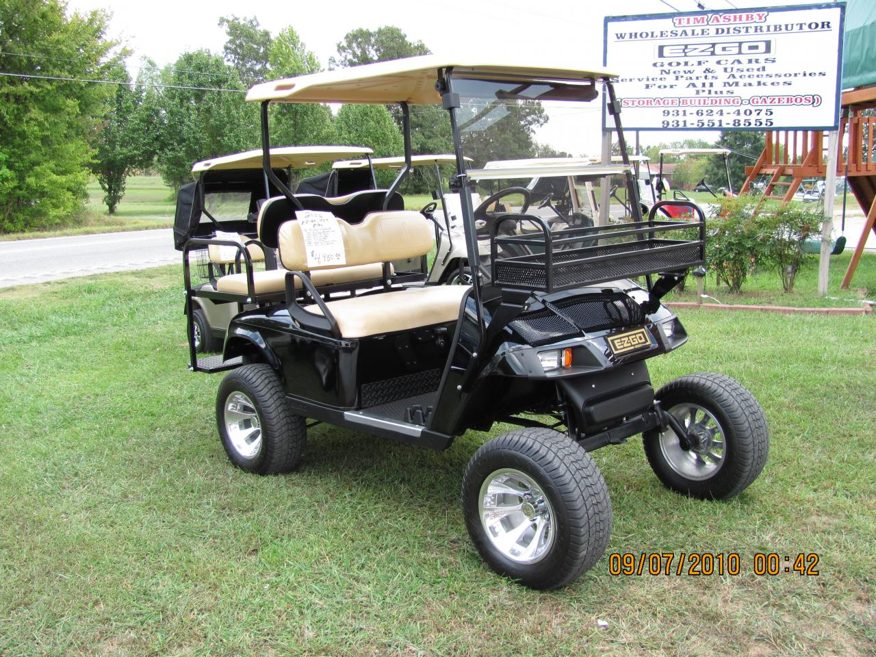 Tim Ashby Wholesale Golf Cars Several To Choose From